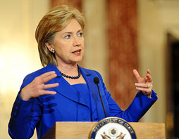 Hillary Clinton, the US Secretary of State. (File photo/ Xinhua)