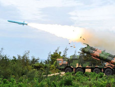 South China Sea Fleet conducts actual-troop live-ammunition drill
