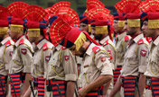 Indians rehearse for Independence Day