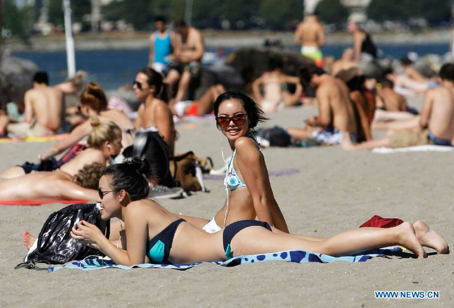 High temperatures in Canada - People's Daily Online