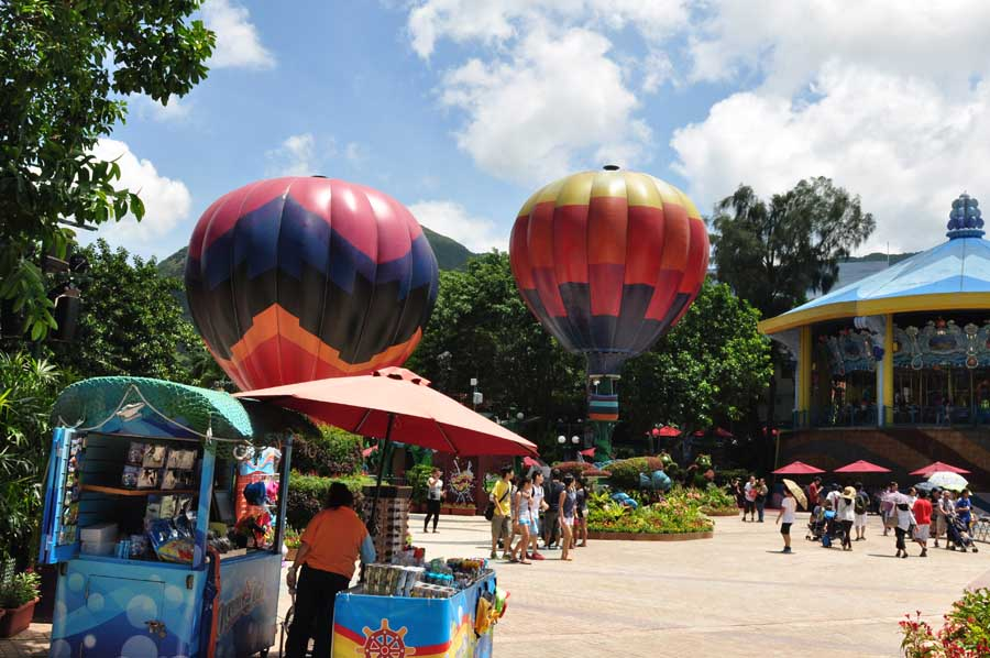 Trip to Hong Kong Ocean Park, China - part 2 (5)
