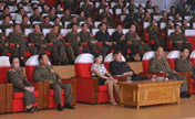 DPRK's top leader watches performance
