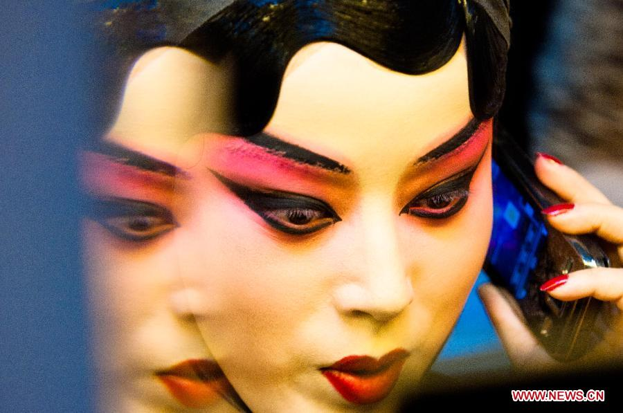 Peking Opera performer - Wang Yige