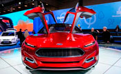 Moscow holds salon displaying new auto trends