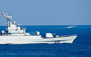 Chinese PLA Navy Beihai Fleet holds training
