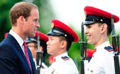 Prince William, Kate in Singapore for official visit