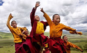Photo shows life of Tibetan people