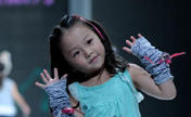 Cute children present creations in Taipei