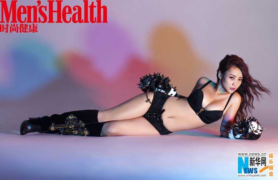 ... actress Liu Yan covers Men'sHealth magazine - People's Daily Online: english.people.com.cn/90782/7981589.html
