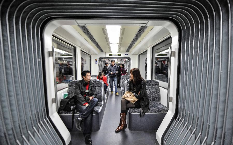 Low Floor Light Rail Train Starts Operation In Changchun