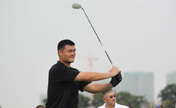 Yao gets ready for Mission Hills golf event