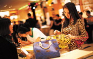 Chinese shopping habits changing