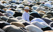 Joy and distress fill the air during Eid festival