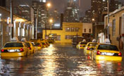Hurricane Sandy slams US east coast
