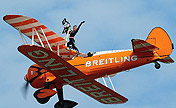 Wonderful performance of Breitling Wingwalkers