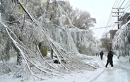 Heavy snowstorms cuts off power and water supplies