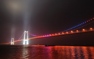 Taizhou Yangtze River Bridge to open in E China