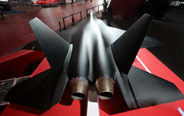 China's stealth fighter concept model