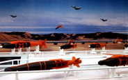 Precision-guided bomb models at Zhuhai Air Show