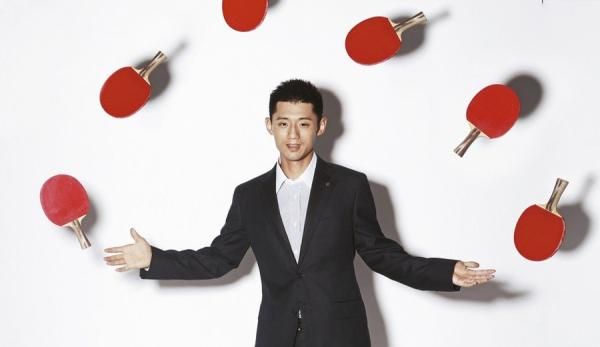 Zhang Jike (Photo/Xinhua)