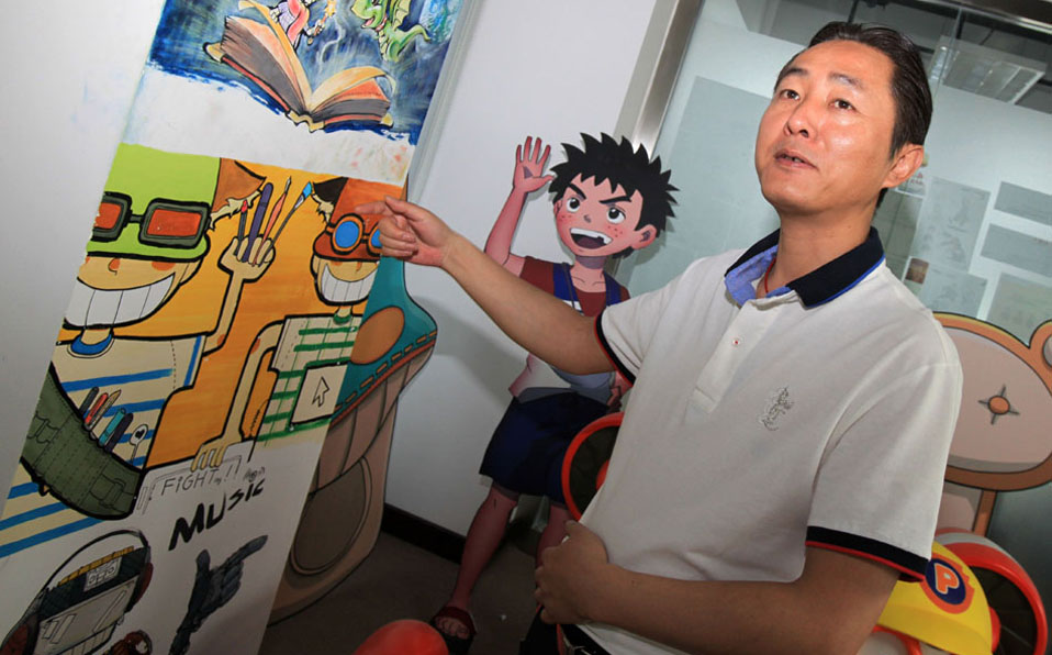 Chinese professional animation manager: Wang Jin
