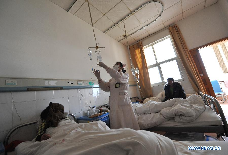 HIV/AIDS patients receive treatment at Yunnan's care ...