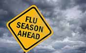 Flu season comes early this year