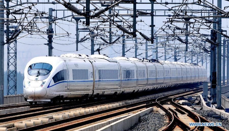 China 39 s electric railway mileage surpasses 48 000 km for China railway 13 bureau group corporation