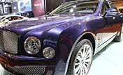 Luxurious Bentley Mulsanne Mulliner