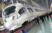 Shanghai railway conducts overhaul of bullet trains
