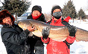 Winter fishing festival marked in NE China
