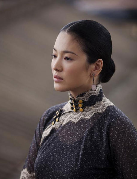 "South Korean actress Song Hye-kyo stars in the Chinese film ""The Grandmaster"". (Source: CRI English)"