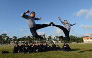Wushu masters' life in PLA Marine Corps
