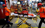Fire breaks out in HK's shopping area