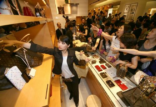 luxury goods market in china