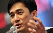 "Tony Leung promote ""The Grandmaster"" in Singapore"