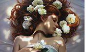 Gorgeous lifelike oil paintings