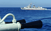 Chinese frigates conduct drill, patrol in S. China Sea