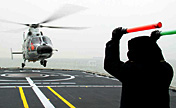 Chinese navy conducts landing training