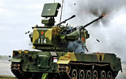 China's 35mm double loading anti-aircraft gun