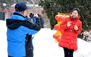 Some parts of Jilin Province witness snowfall