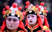 Shehuo parade performed in NW China