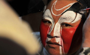 Shaanxi opera performed in a small village in W China