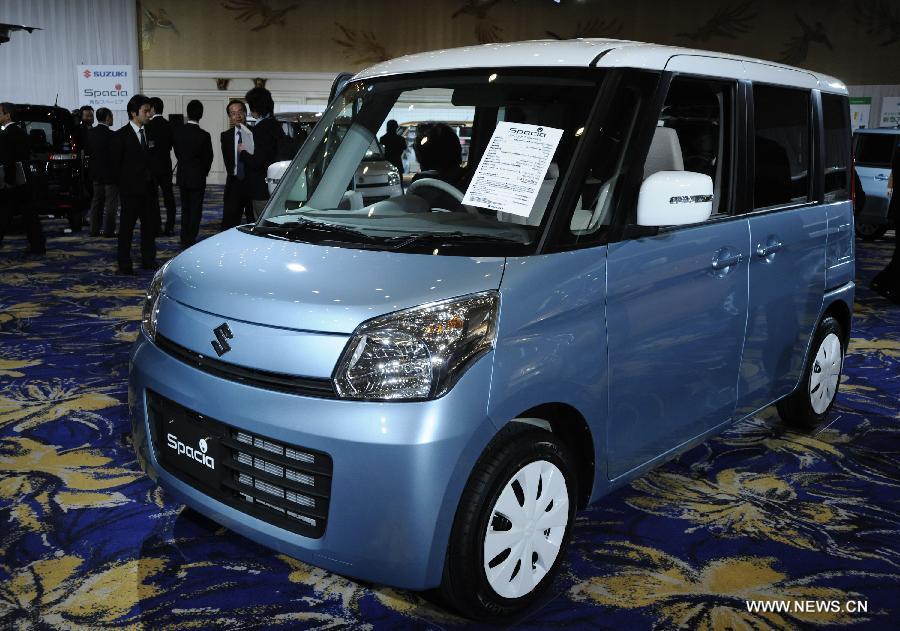 Suzuki introduces new mini car