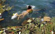 Alarming water pollution in China