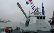 Chinese Navy's type-056 frigate makes debut