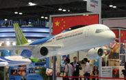 China's jumbo jet C919 expected to fly next year