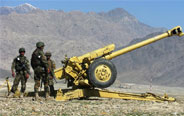 Afghan national army holds military exercise