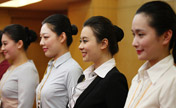 Flight attendants recruitment attracts young