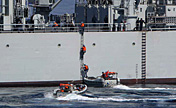 Naval escort taskforce in drill to rescue hijacked ship